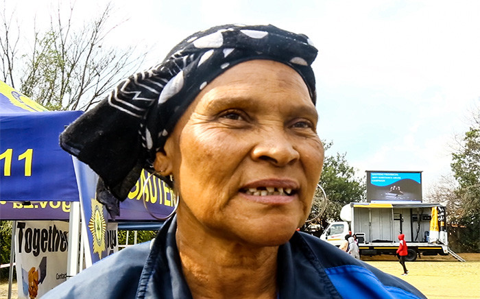 Pauletta Louw, a mother of sons abusing drugs shares her story. Picture: Kayleen Morgan/EWN