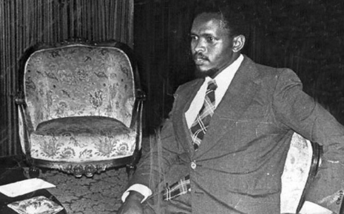 FILE: A 1977 File photo shows Black Consciousness Movement (BCM) founder Steve Bantu Biko. Picture: AFP.