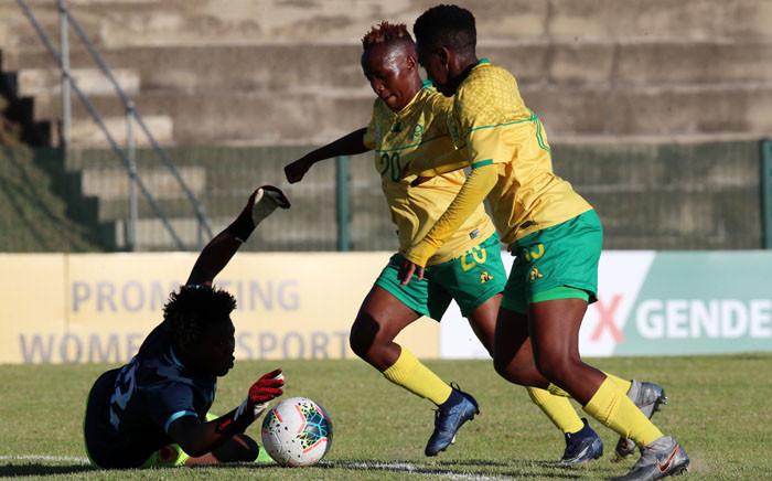 Banyana Banyana beat Angola in a Cosafa Cup match on 3 November 2020. Picture: Safa