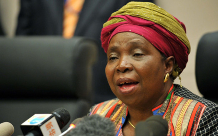 Nkosazana Dlamini-Zuma says a key impediment to growth on the continent is poor infrastructure. Jacoline Prinsloo/GCIS