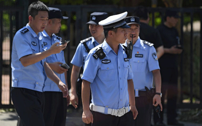 FILE: Chinese police. Picture: AFP