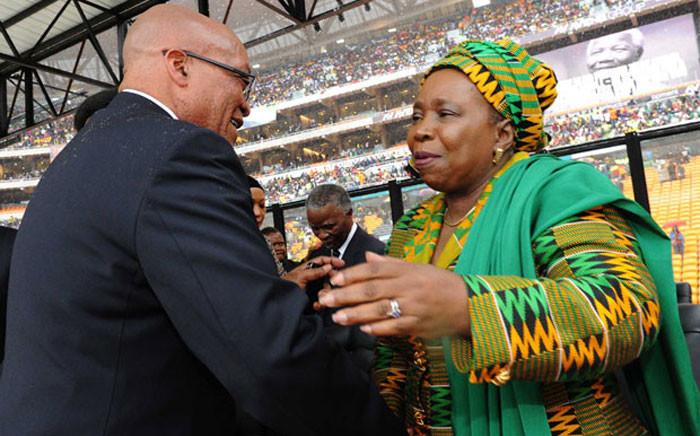 FILE: President Jacob Zuma and Nkosazana Dlamini Zuma. Picture: GCIS