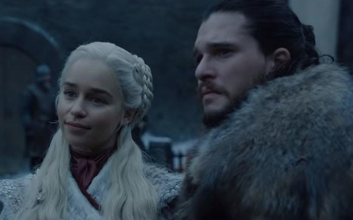 Daenerys Targaryen and Jon Snow. Picture: HBO