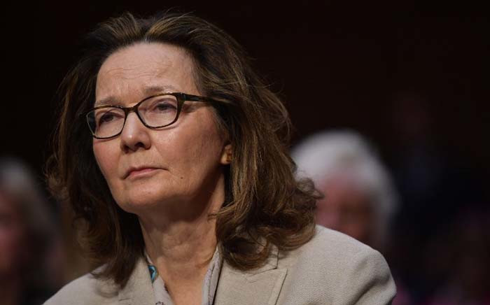 Gina Haspel arrives to testify before the Senate Intelligence Committee on her nomination to be the next CIA director in the Hart Senate Office Building on Capitol Hill in Washington, DC on 9 May 2018.  Picture: AFP.