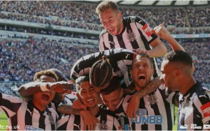Dwight Gayle scored the opening goal in the first half and Spanish striker Ayoze Perez added the second and third after the break. Picture: Twitter