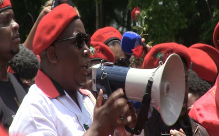 EFF leader Julius Malema. Picture: EWN.