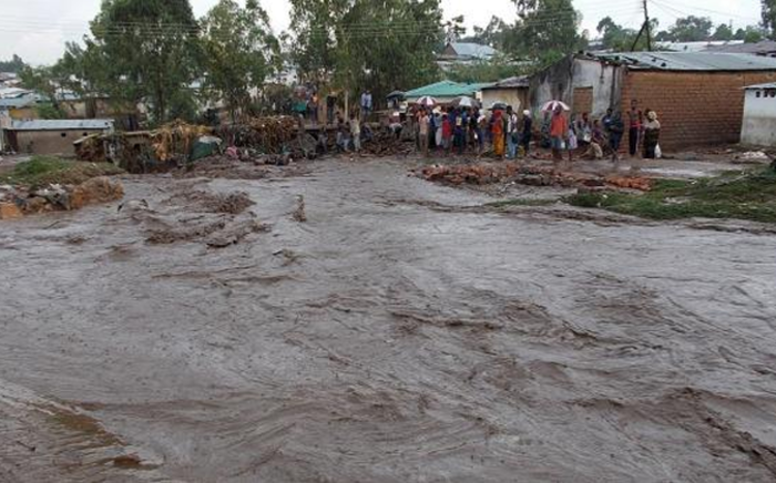 Tens of thousands of people have been displaced as torrential rain continues in Malawi and Mozambique. Picture: @GiftAkefe, Twitter.