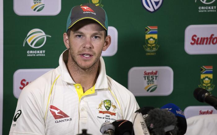 FILE: Australian captain Tim Paine. Picture: AFP