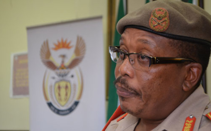 FILE: South African National Defence Force chief Solly Shoke. Picture: Supplied.