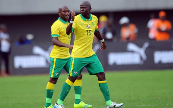Bafana Bafana star midfielder Hlompho Kekana has received the nod for the coveted Fifa Puskas Award for the Goal of the Year. Picture: Official Bafana Facebook page.