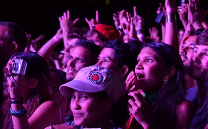 Red Hot Chili Peppers fans at Cape Town Stadium on 5 February 2013. Picture: Aletta Gardner/EWN