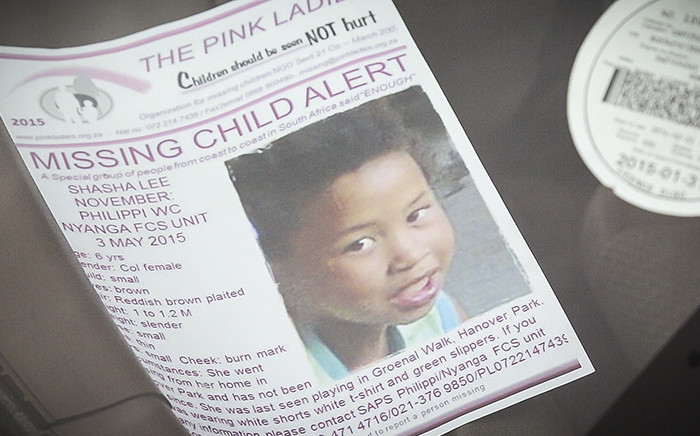 FILE: A flyer sits on a car dashboard in a resident's car in Hanover Park. Picture: Thomas Holder/EWN