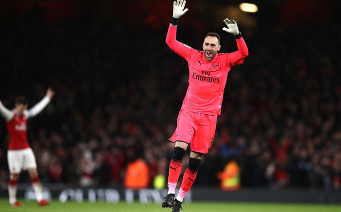 Arsenal goalkeeper David Ospina. Picture: @D_Ospina1/Twitter