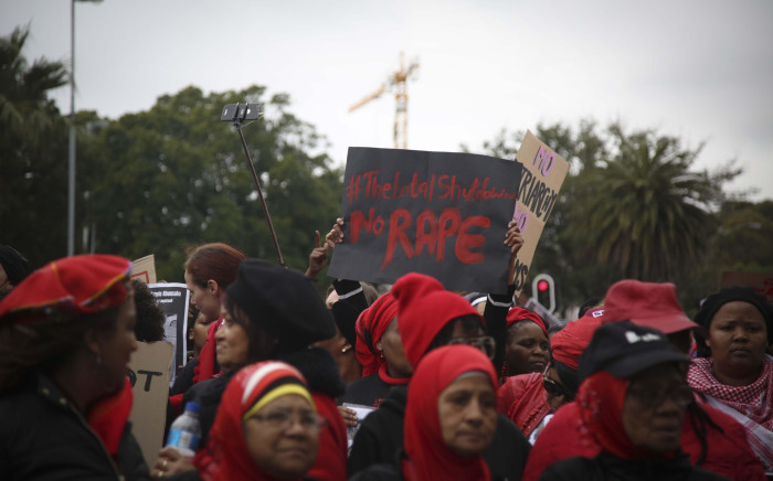 FILE: Women in Cape Town marched from Keizergracht to Parliament as part of the #TotalShutDown. Picture: Cindy Archillies/EWN
