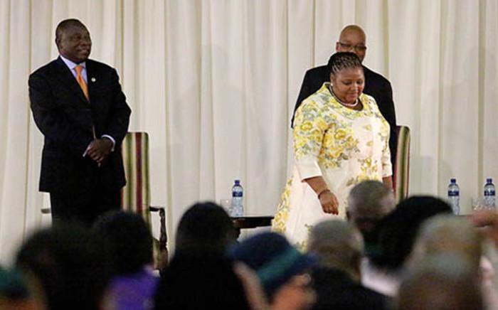 FILE: Defence Minister Nosiviwe Mapisa-Nqakula. Picture: EWN.