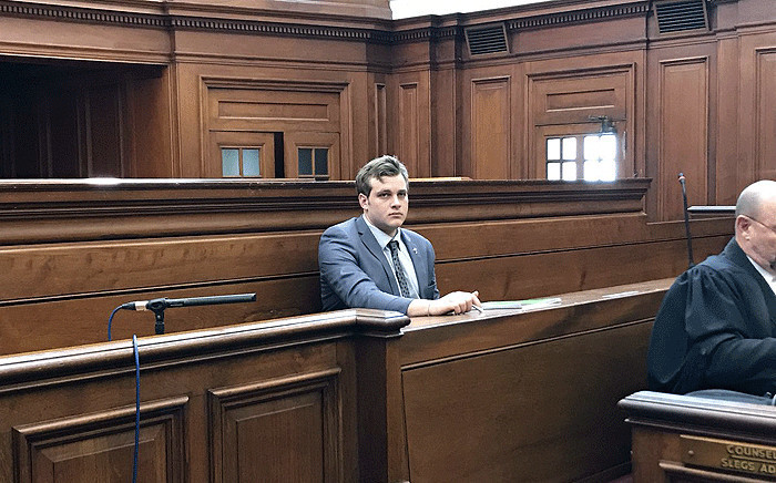 FILE: Family axe murder accused Henri van Breda in the Western Cape High Court on 9 October 2017. Picture: Monique Mortlock/EWN