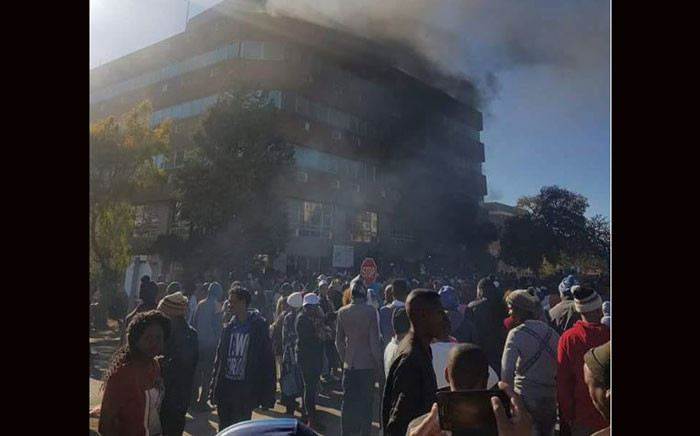 Violent protests erupted in Kimberly, Northern Cape, on 12 July 2018. Picture: Supplied