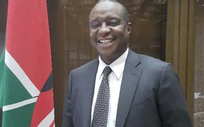 Kenya's Finance Minister Henry Rotich. Picture: @HKRotich/Twitter