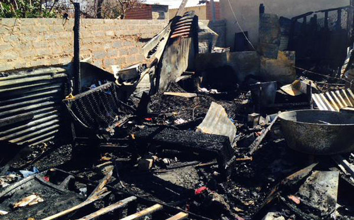 FILE: It's understood the children's mother had left paraffin stove on and was visiting neighbours. Picture: Masego Rahlaga/EWN.