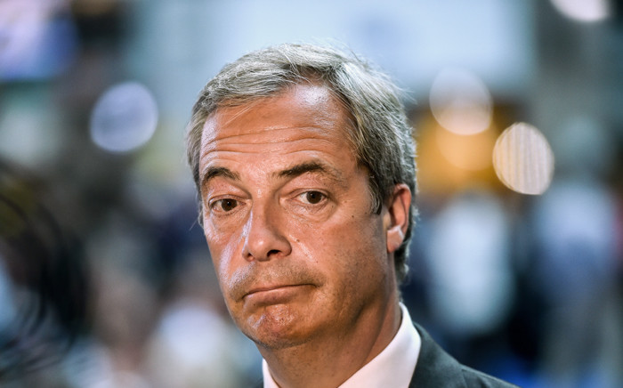 FILE: Nigel Farage. Picture: AFP.