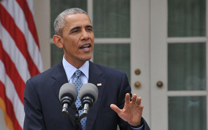US President Bararck Obama. Picture: AFP