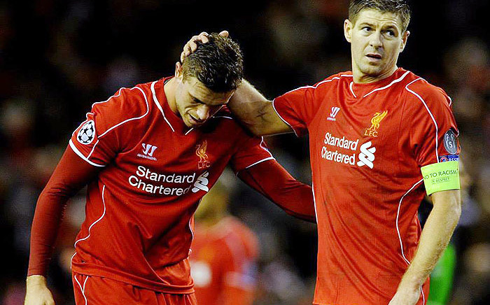 FILE: Liverpool captain Steven Gerrard (R) and midfielder Jordan Henderson. Picture: LFC on Facebook.