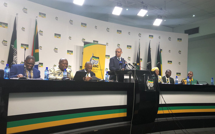 The ANC held a press conference on Wednesday 1 August 2018 on the outcomes of the ANC NEC Lekgotla that was held on 30 to 31 July 2018 in Tshwane. Picture: Qaanitah Hunter/EWN