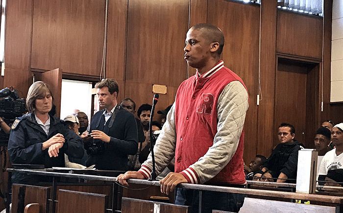 Mortimer Saunders seen in the Goodwood Magistrates Court on Friday, 6 October 2017. Picture: Lauren Isaacs/EWN.