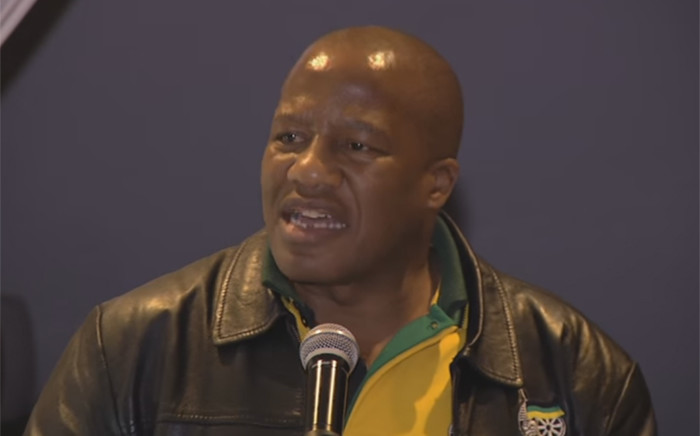 YouTube screengrab of ANC Chief Whip Jackson Mthembu.
