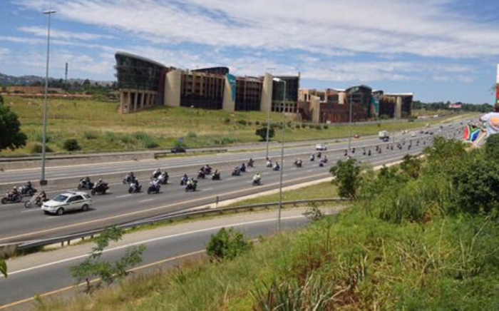 Motorbikes take part in a protest against e-tolling on 25 January 2014. Picture: EWN