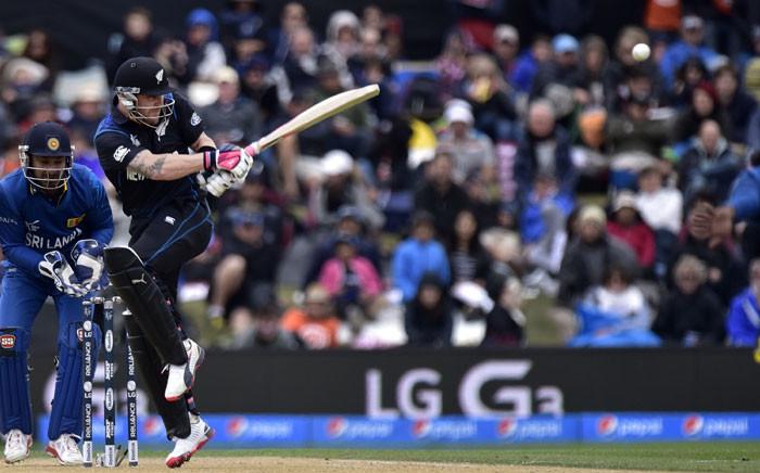 FILE: New Zealand batter captain Brendon McCullum. Picture: AFP.