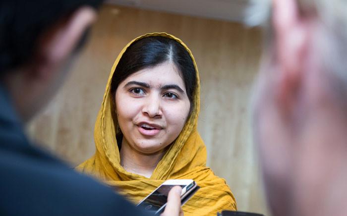 Nobel Peace Prize Laureate Malala Yousafzai. Picture: NTB SCANPIX/AFP.