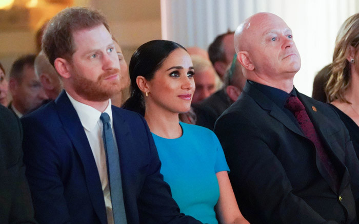 The Duke and Duchess of Sussex attend the Endeavour Fund Awards at Mansion House in London on 5 March 2020. Picture: AFP.