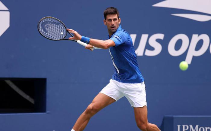 Novak Djokovic in action at the US Open on 2 September 2020. Picture: @usopen/Twitter