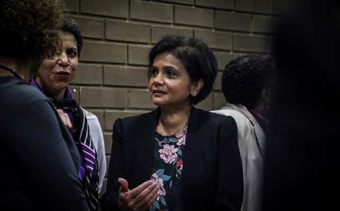 FILE: NPA head Shamiela Batohi (centre) at the opening of Booysens Magistrates Court. Picture: Abigail Javier/EWN