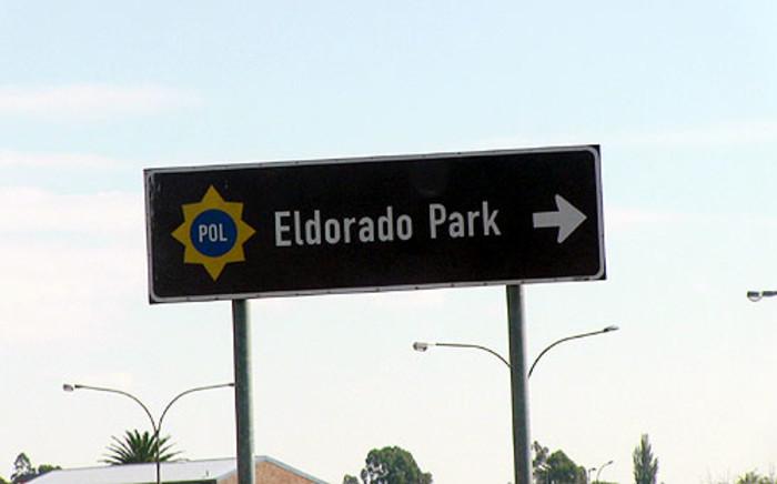 A sign to the Eldorado Park police station. Picture: Christa van der Walt/EWN