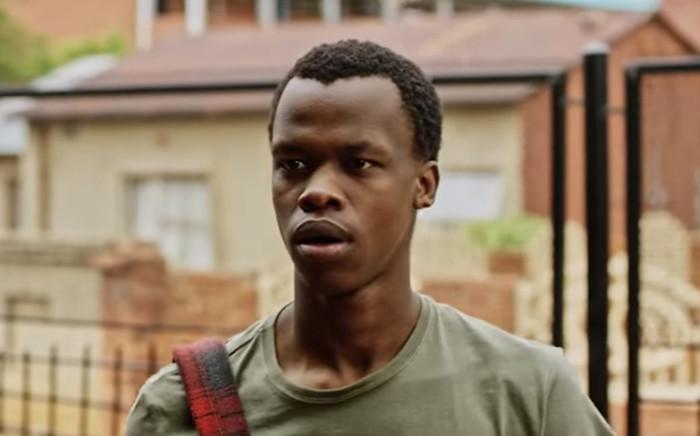 A screengrab of late actor Sibusiso Khwinana taken from the trailer of SA-hit film 'Matwetwe'.
