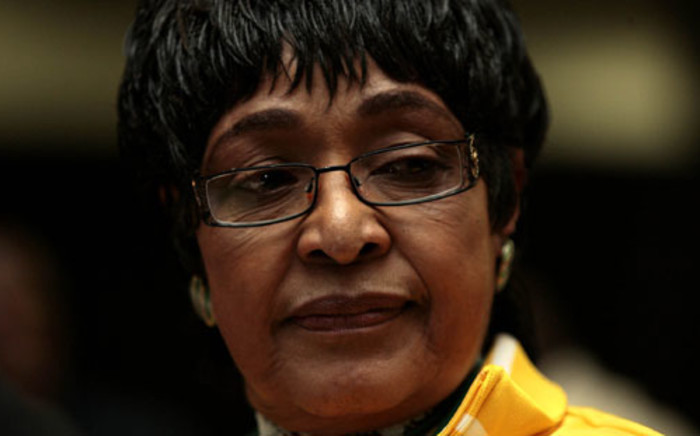 Winnie Madikizela-Mandela. Picture: Sapa.