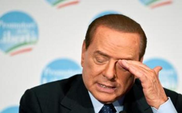 Former Prime Minister Silvio Berlusconi. Picture: AFP