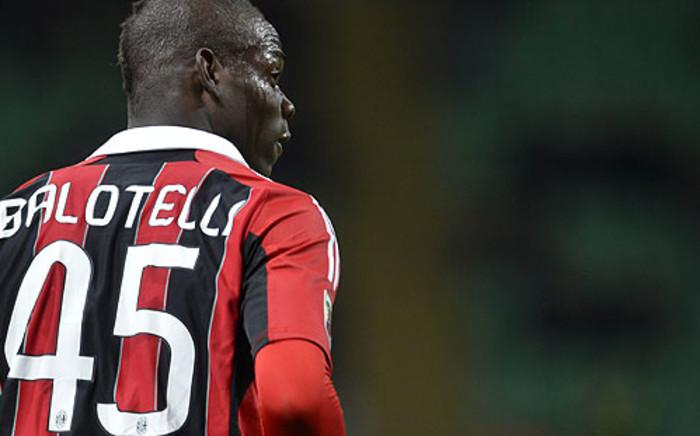 FILE: AC Milan striker Mario Balotelli Picture: AFP.