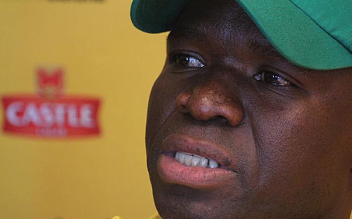 Bafana Bafana interim coach Steve Komphela. Picture: Taurai Maduna/EWN