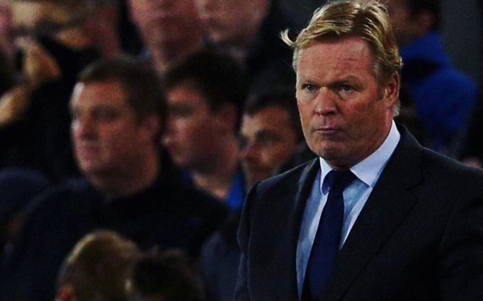 FILE:  Former Everton manager Ronald Koeman. Picture: Twitter/@RonaldKoeman