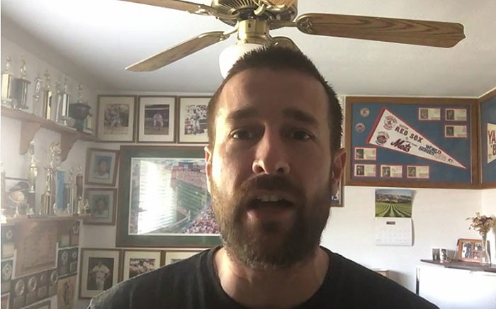 Steven Anderson, American pastor. Picture: Screengrab via YouTube.