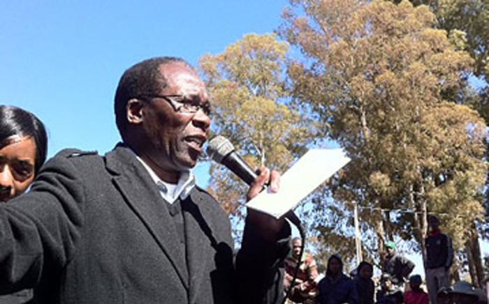 Gauteng Local Government and Housing MEC Humphrey Mmemezi. Picture: EWN