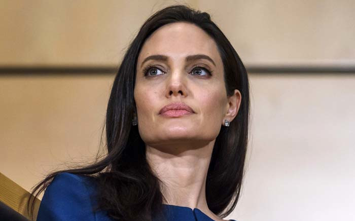 FILE: US actress and United Nations High Commissioner for Refugees special envoy Angelina Jolie at the UN in Geneva in March 2017. Picture: AFP