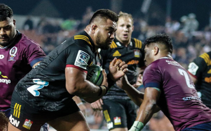 The Chiefs and the Reds in action during their Super Rugby match in Hamilton on 24 May 2019. Picture: @ChiefsRugby/Twitter