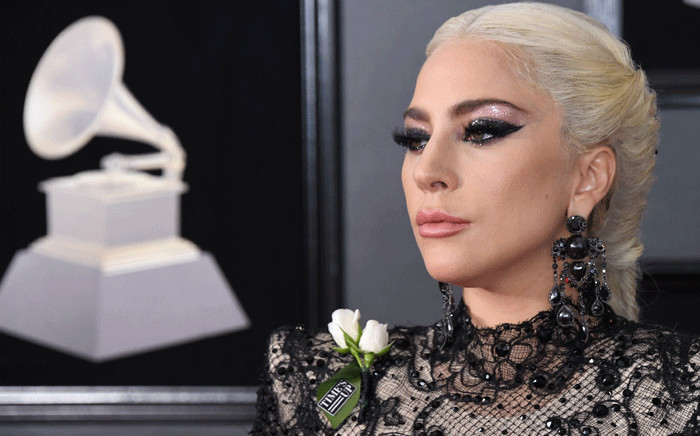 Lady Gaga arrives for the 60th Grammy Awards on 28 January 2018, in New York. Picture: AFP