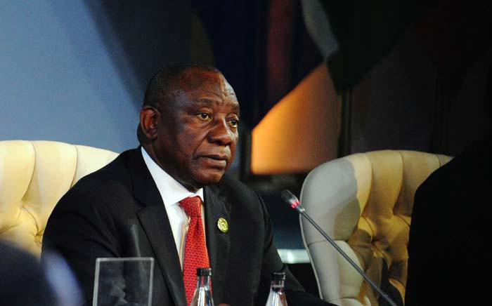 FILE: President Cyril Ramaphosa. Picture: Dirco