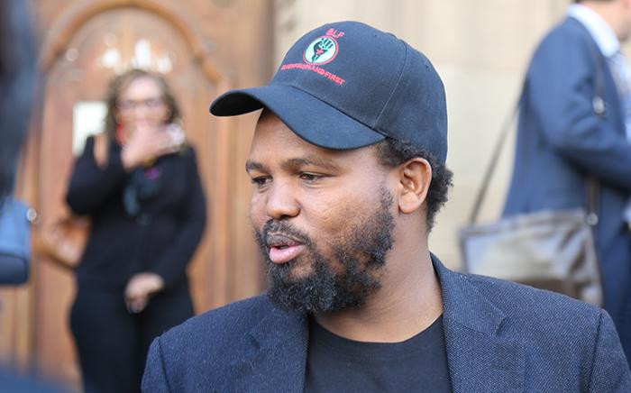 FILE: Black First Land First Leader Andile Mngxitama. Picture: Christa Eybers/EWN