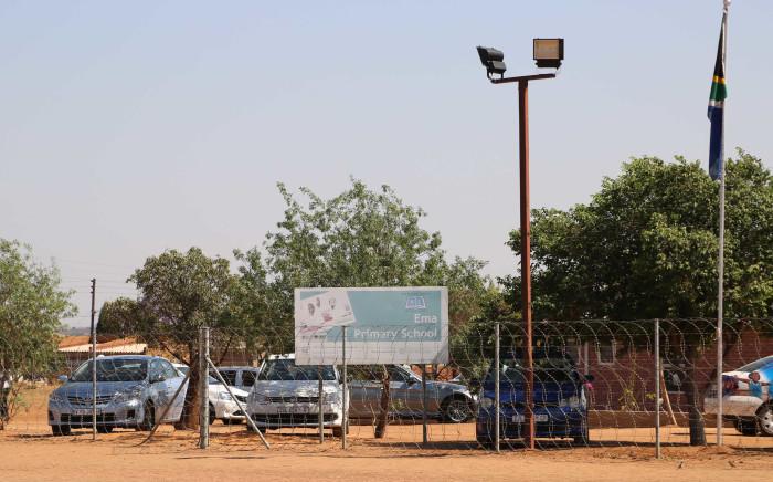 The Ema Primary School in Winterveldt north of Pretoria. Picture: Christa Eybers/EWN